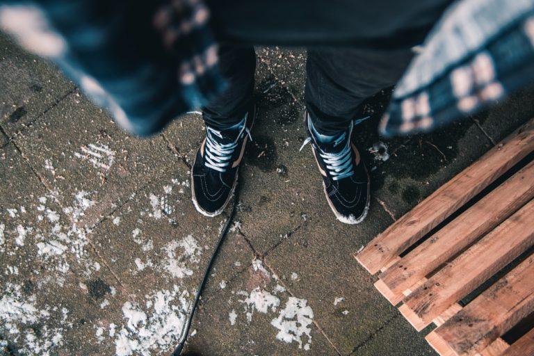 Queda-sapatos