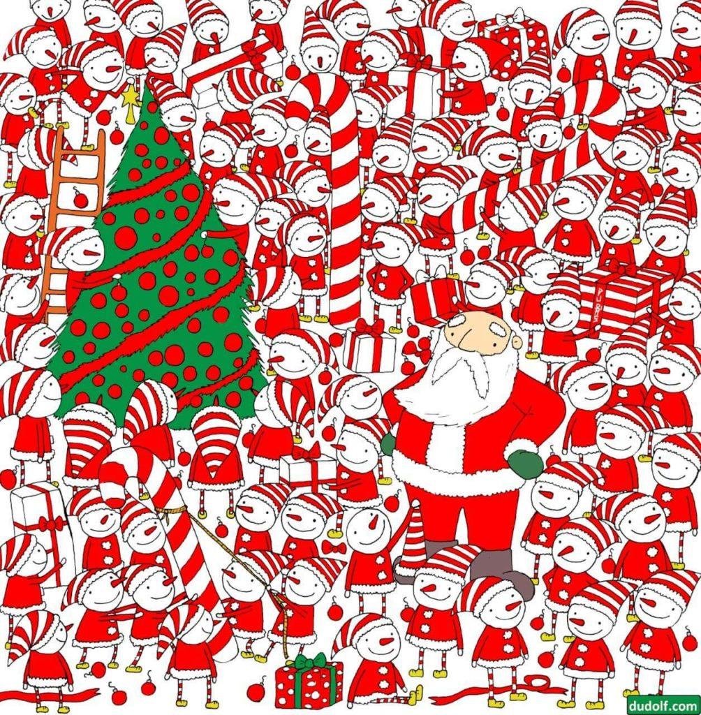Treino Cognitivo Papai Noel 01