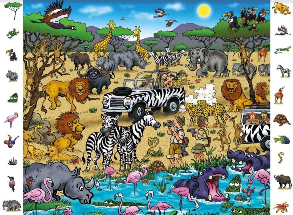 Treino Cognitivo - Safari 1