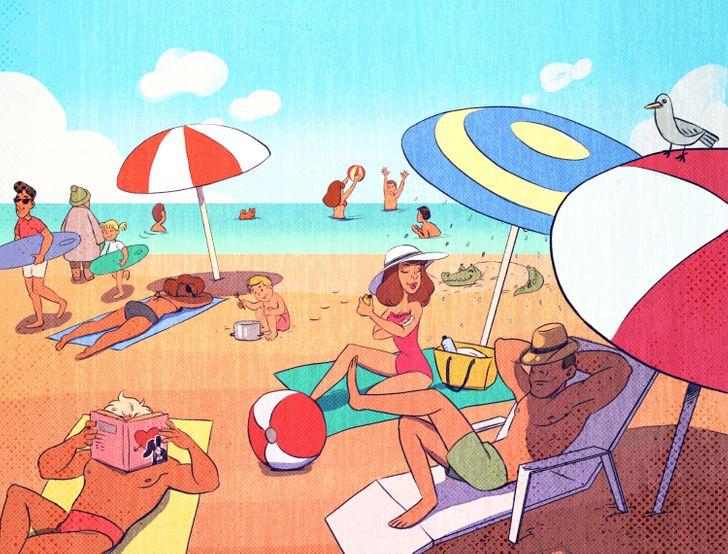 Sábado é dia de Praia