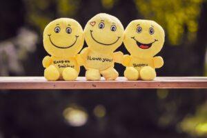Sorriso e felicidade